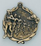 Wreath Medal -Cross Country Female Cross Country Trophy Awards