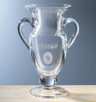 Conqueror's Trophy Glass   Crystal Cup Trophies
