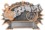 Resin Plate - Music  Music Trophy Awards
