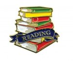 Bright Gold Educational Honor Roll Lapel Pin Scholastic Trophy Awards