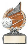 Multi Color Sport Resin Figure -Volleyball Volleyball Trophy Awards
